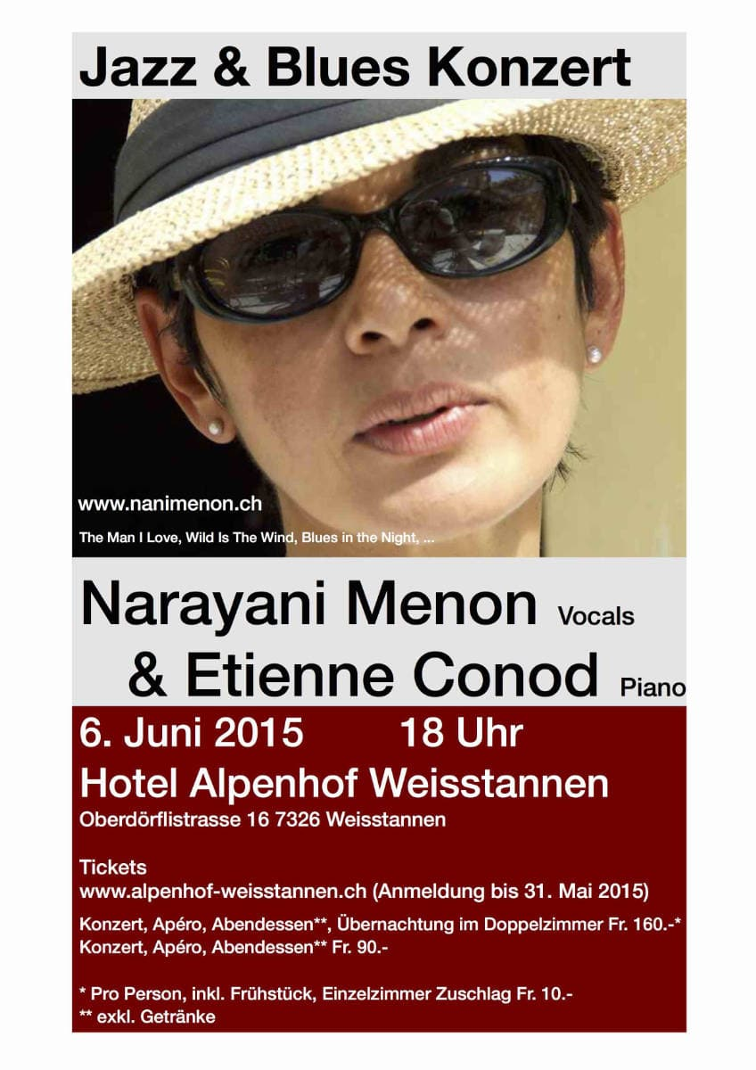 Plakat Jazz & Blues Konzert